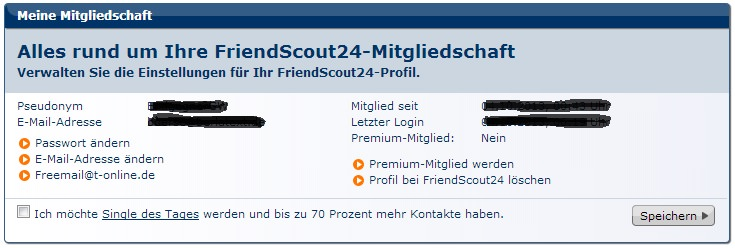 Singles leipzig de account