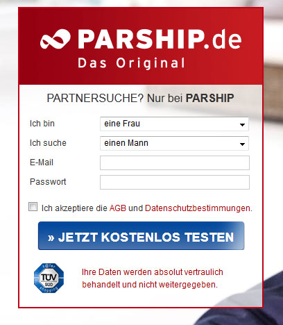 parship e mail adresse