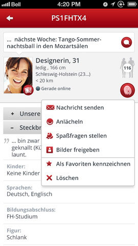 single-chat.net app parship.de