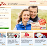 DatingCafe 2013 Screenshot von der Webseite