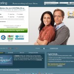eDarling 2012 Screenshot von der Webseite