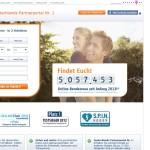LoveScout24 2013 Screenshot von der Webseite