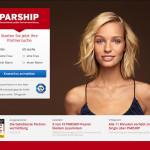 Parship 2015 Screenshot von der Webseite