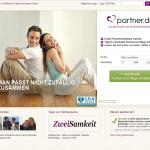 Partner.de 2012 Screenshot von der Webseite