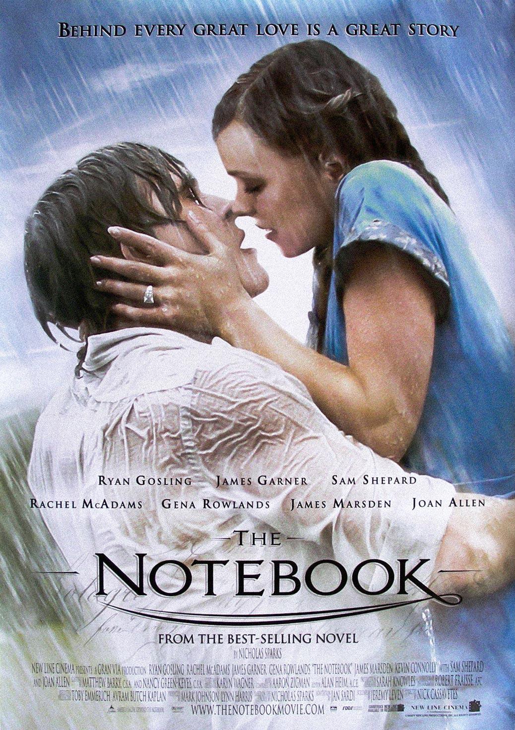Der Film The Notebook - Wie ein einziger Tag
